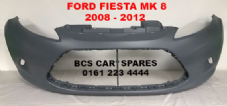 FORD FIESTA  MK 8 FRONT BUMPER   ( NO  FOG LIGHT TYPE )  2008 - 2012   NEW